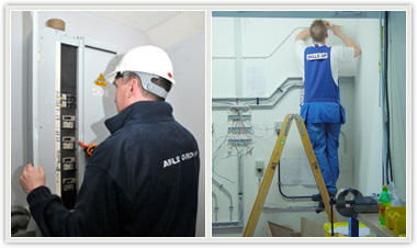 electrical testing and electrical wiring